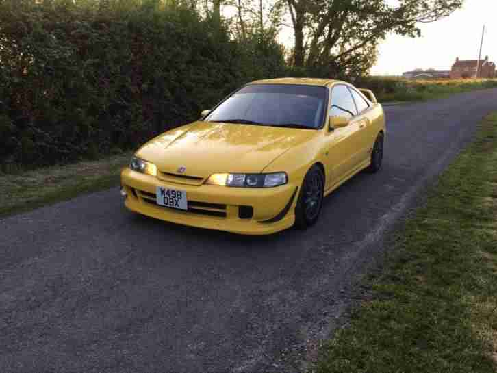 2000 Honda Integra Type R YELLOW DC2 dc5 ek9 Civic JDM Track ready Investment!