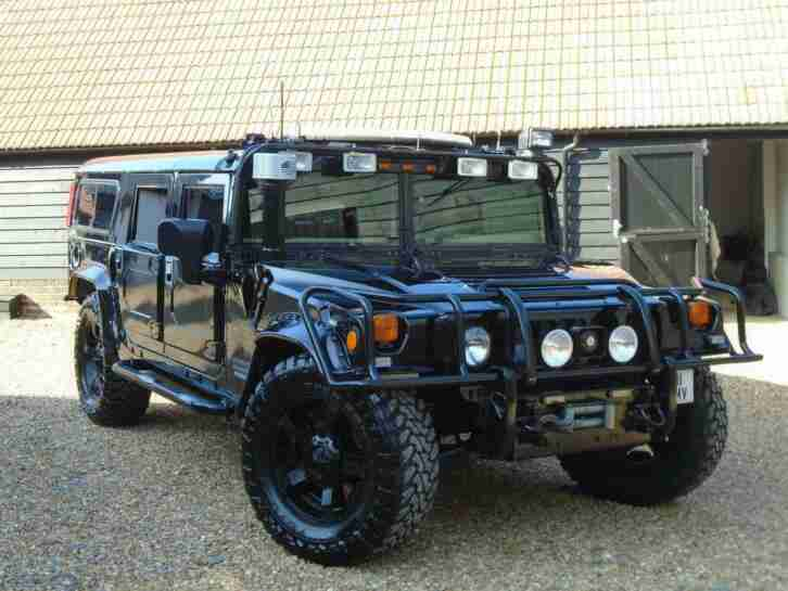Hummer H1. Hummer car from United Kingdom