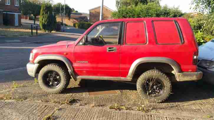 Isuzu TROOPER. Isuzu car from United Kingdom