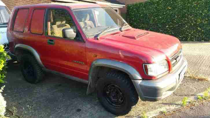 2000 ISUZU TROOPER 3.0 TURBO DIESEL MANUAL