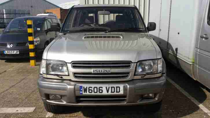 2000 TROOPER CITATION DT LWB A SILVER