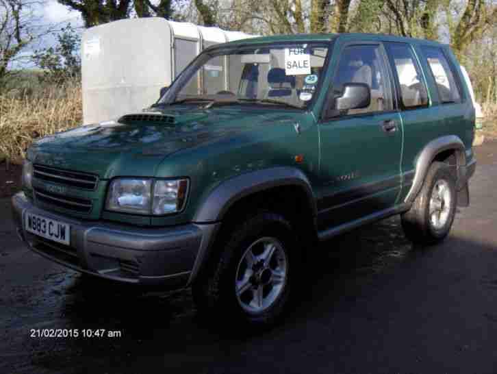 2000 ISUZU TROOPER DUTY DT SWB GREEN