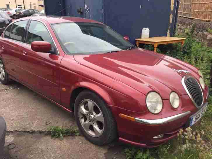 2000 JAGUAR S TYPE 3.0 V6 SE AUTO 4 DOOR SALOON