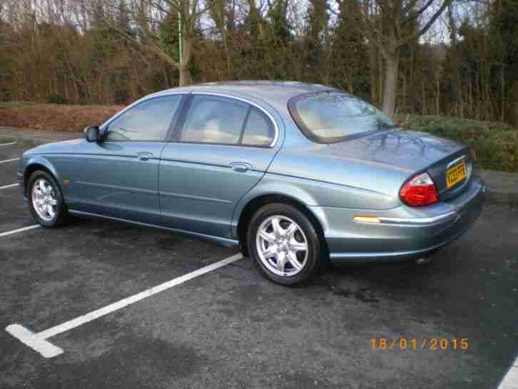 2000 JAGUAR S-TYPE V6 AUTO BLUE 1 FORMER KEEPER FROM NEW GOOD HISTORY