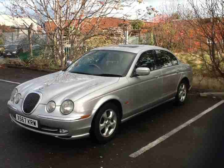 jaguar 2000 s type v6 se auto silver car for sale. Black Bedroom Furniture Sets. Home Design Ideas