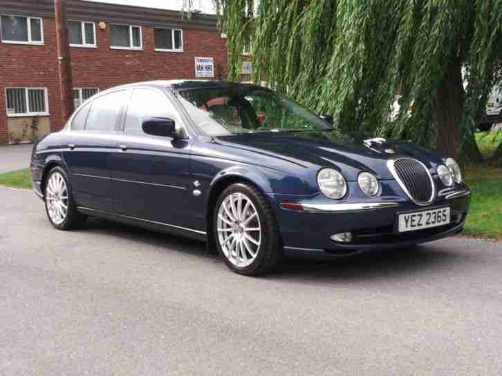 jaguar 2000 s type v8 auto blue car for sale. Black Bedroom Furniture Sets. Home Design Ideas