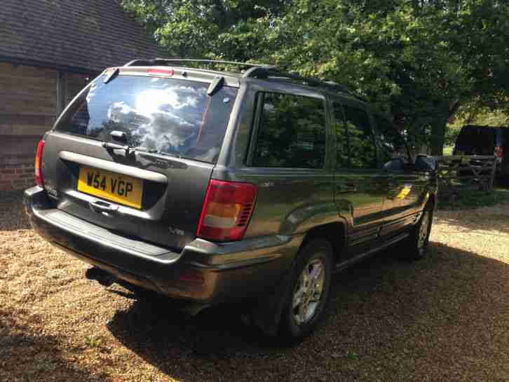 2000 JEEP GRAND CHEROKEE LIMITED V8 BRONZE