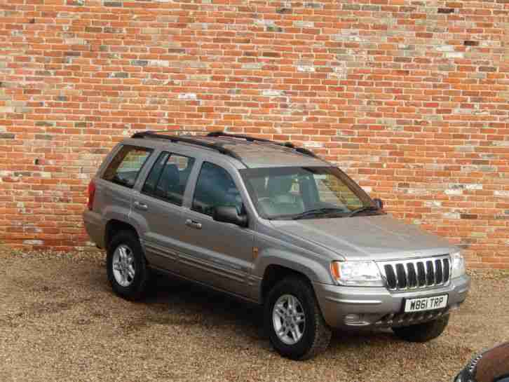 jeep 2000 grand cherokee ltd td a silver car for sale. Black Bedroom Furniture Sets. Home Design Ideas