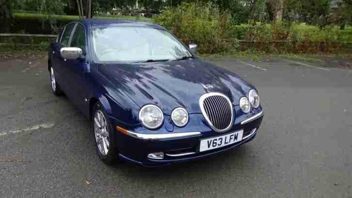 Jaguar S. Jaguar Car From United Kingdom