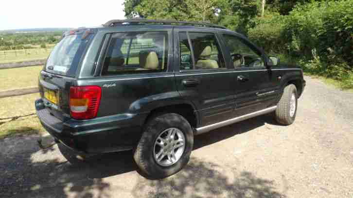 jeep 2000 grand cherokee limited 3 1 td diesel auto car for sale. Black Bedroom Furniture Sets. Home Design Ideas