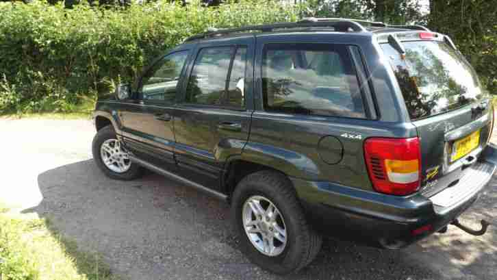 jeep 2000 grand cherokee limited 3 1 td diesel auto car. Black Bedroom Furniture Sets. Home Design Ideas