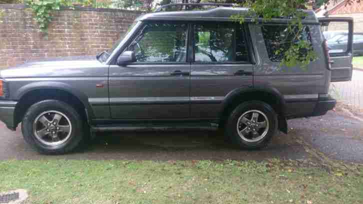 2000 LAND ROVER DISCOVERY GREY