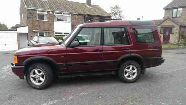 LAND ROVER DISCOVERY TD5 GS DIESEL 4X4 7 SEATER MANUAL PX SWAP