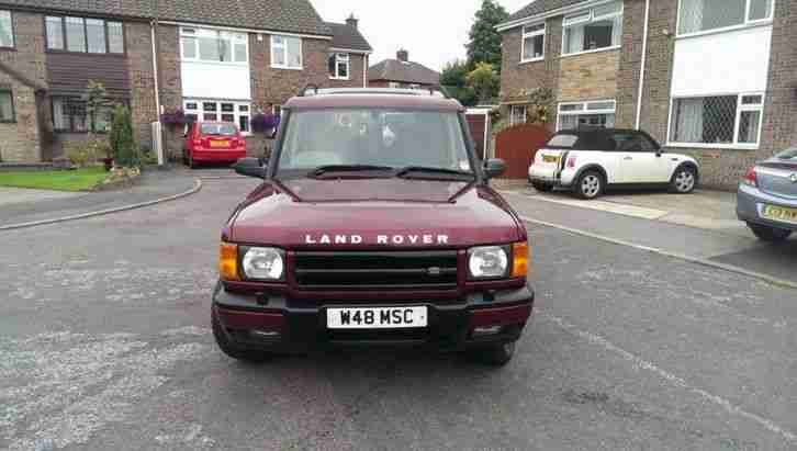 2000 LAND ROVER DISCOVERY TD5 GS DIESEL 4X4 7 SEATER MANUAL PX SWAP