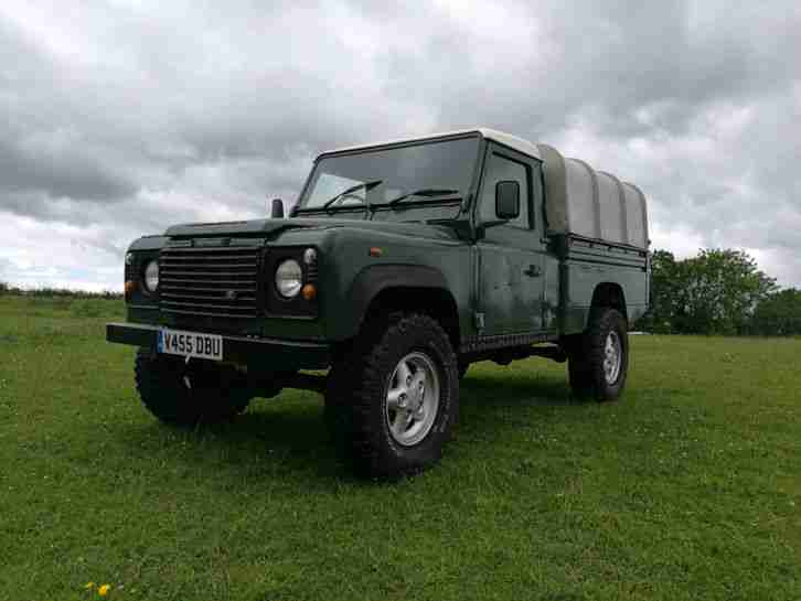 2000 Land Rover Defender 110 HCPU High capacity NEW CHASSIS Only 77000