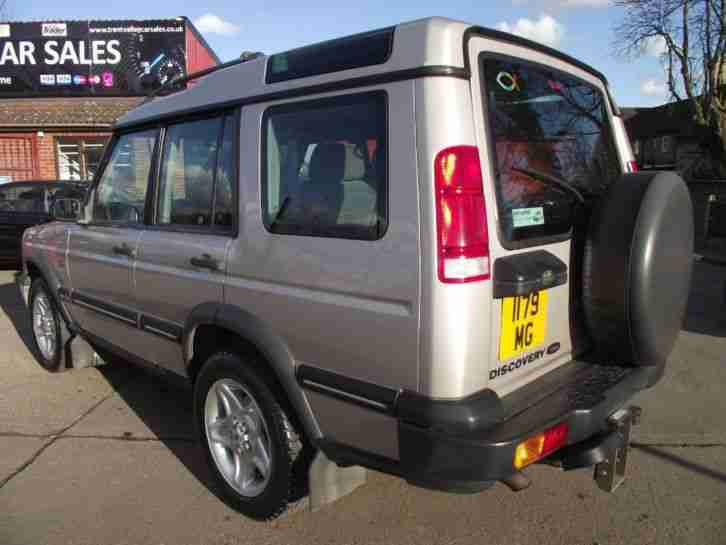 2000 Land Rover Discovery 2.5 Td5 GS 7 seat 5dr 5 door Estate