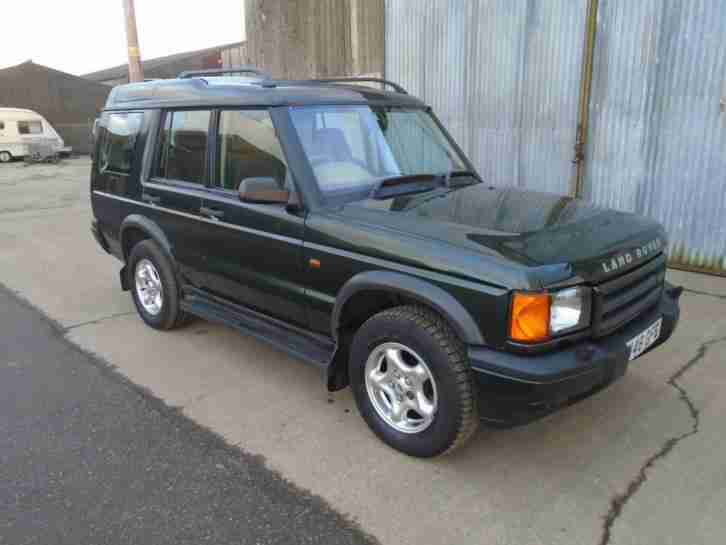 2000 Land Rover Discovery 2.5Td5 ( 7 st )