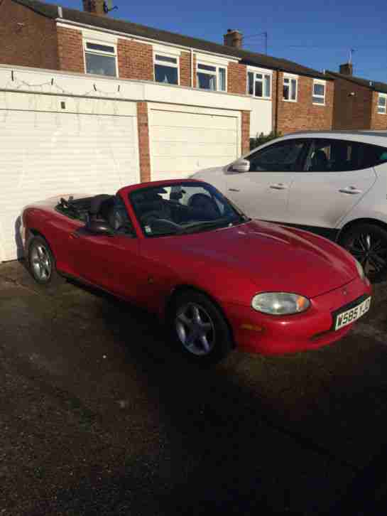 2000 MAZDA MX5 ROASTER 1.8I FULL HISTORY 1 YEARS MOT NEW ROOF PROJECT TRACK CAR