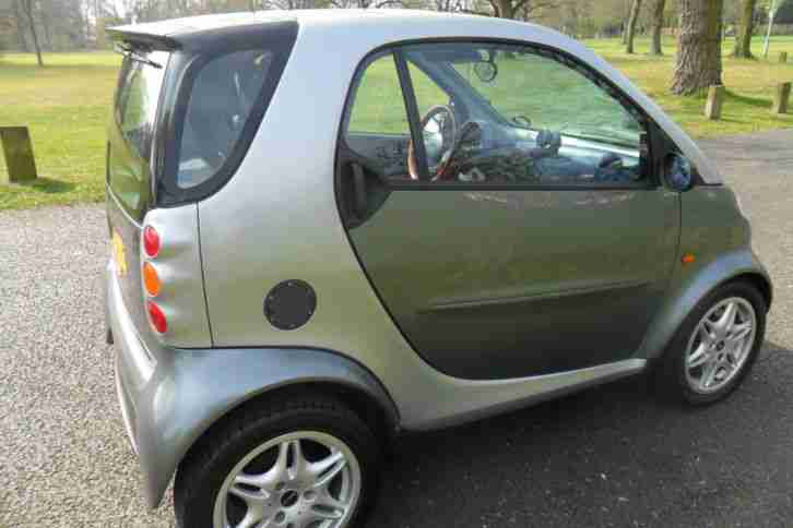 2000 MCC SMART PASSION AUTO (LHD) SILVER 59K MILES MOT 12/2015 FULLY AUTOMATIC