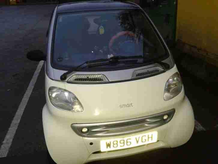 smart 2000 mcc pulse auto lhd white silver car for sale. Black Bedroom Furniture Sets. Home Design Ideas