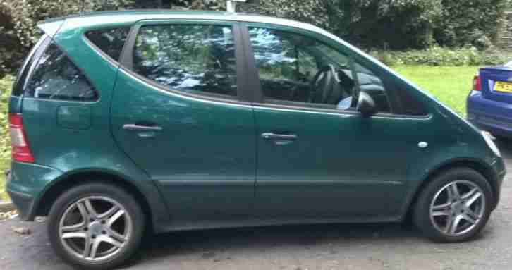 2000 mercedes a170 cdi classic auto green spares repairs car for sale. Black Bedroom Furniture Sets. Home Design Ideas