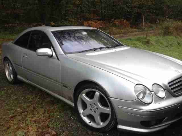2000 MERCEDES CL55 AMG F1 limited edition RHD