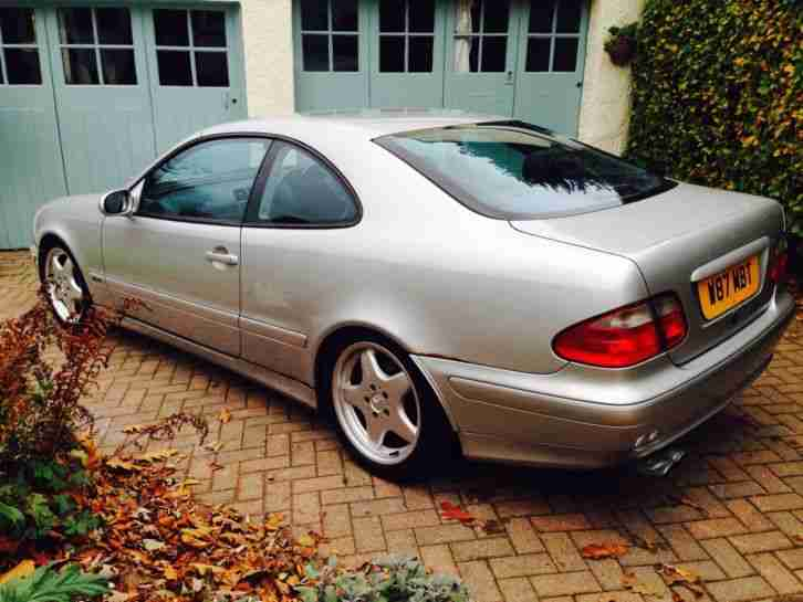 MERCEDES CLK230. Mercedes-Benz car from United Kingdom