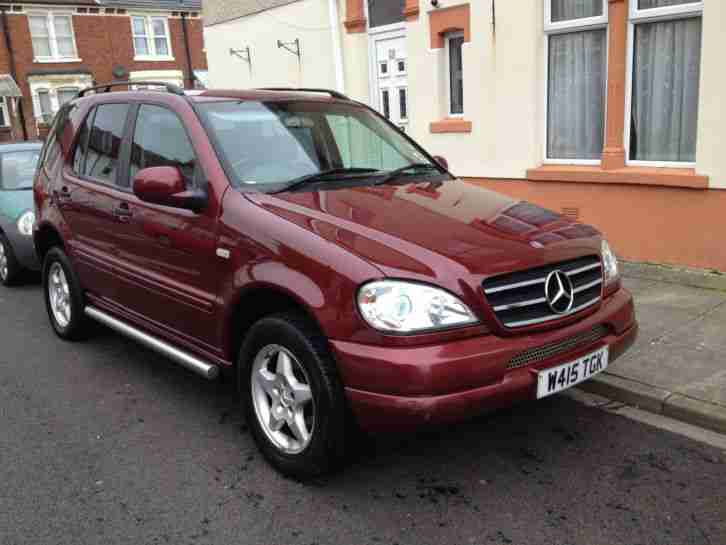 2000 mercedes ml 270 cdi auto red seven seater car for sale. Black Bedroom Furniture Sets. Home Design Ideas