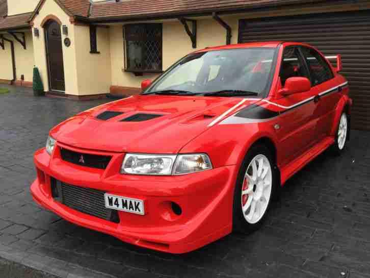 Mitsubishi EVOLUTION VI TOMMI MAKINEN (EVO 6 MAK TME) RED
