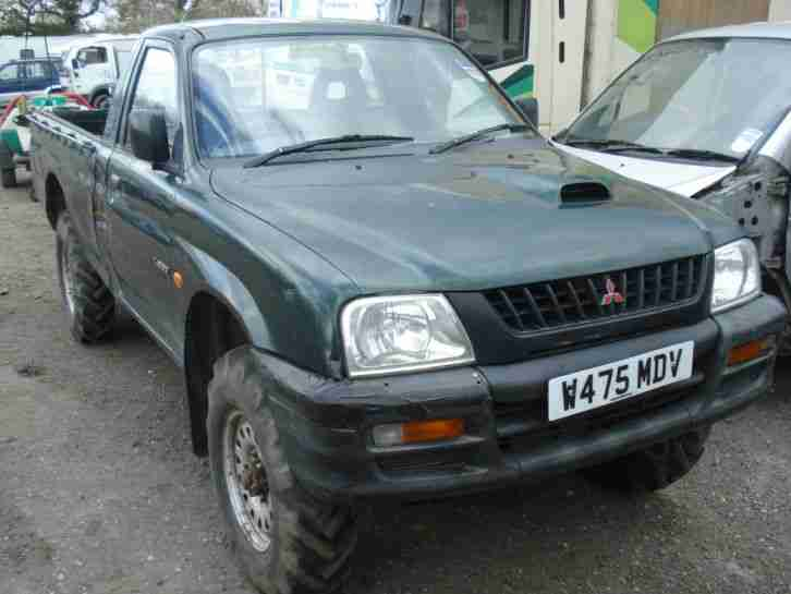 mitsubishi 2000 l200 breaking all parts available car for sale. Black Bedroom Furniture Sets. Home Design Ideas