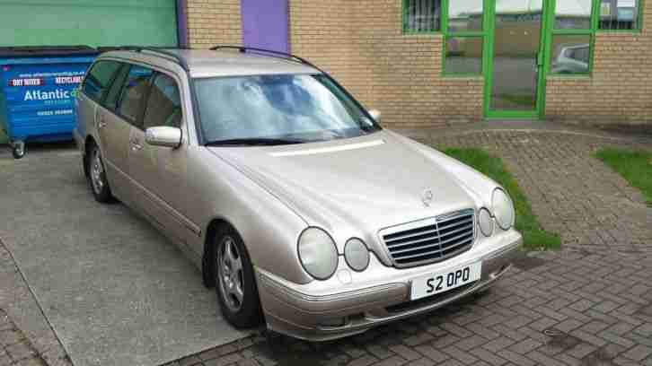 2000 Mercedes-Benz E Class E320 Estate CDi Avantgarde 5dr Tip Auto 7 seater