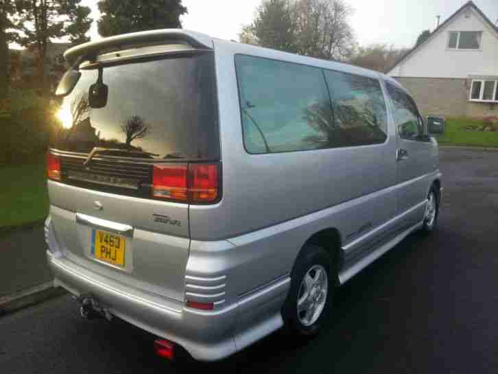 2000 NISSAN ELGRAND 3.0 TD AUTO NEO HIGHWAY STAR 8 SEATER. car for sale