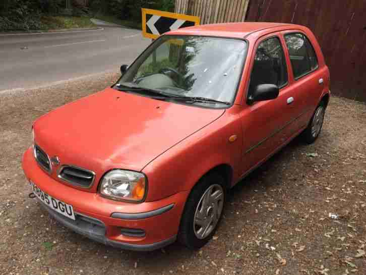 nissan 2000 micra s auto 27000 miles 2 owners full history mainly. Black Bedroom Furniture Sets. Home Design Ideas