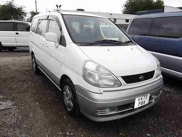 2000 NISSAN SERENA 2.0 AUTO 8 SEATER MPV - ONLY 1 UK OWNER