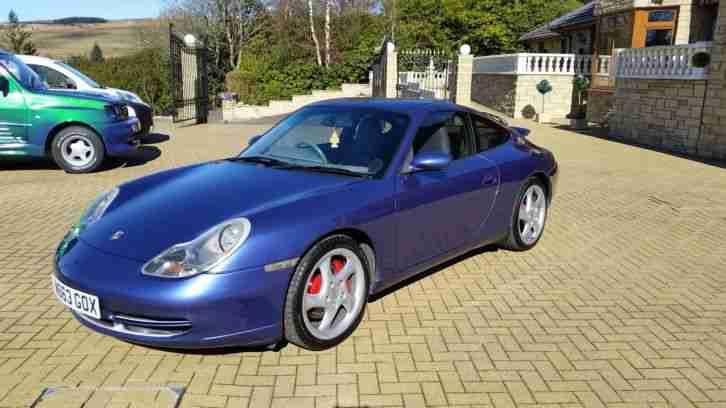 Porsche 2000 911 CARRERA 4 TIPTRONIC S ZENITH BLUE 996. car