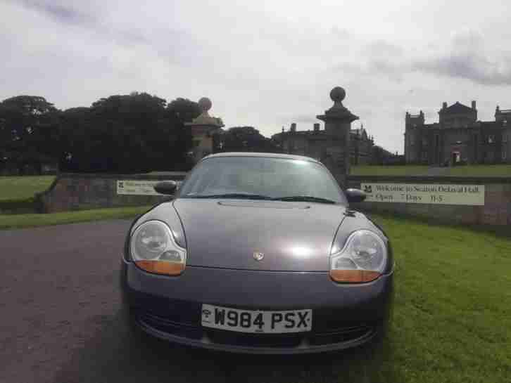 2000 PORSCHE 911 CARRERA TIPTRONIC S GREY