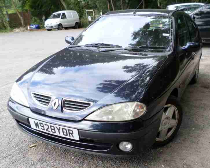 RENAULT MEGANE. Reliant car from United Kingdom