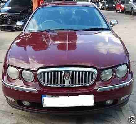 2000 ROVER 75 CONNOISSEUR AUTOMATIC RED. Leather interiors. MOT TILL SEPT 2017.