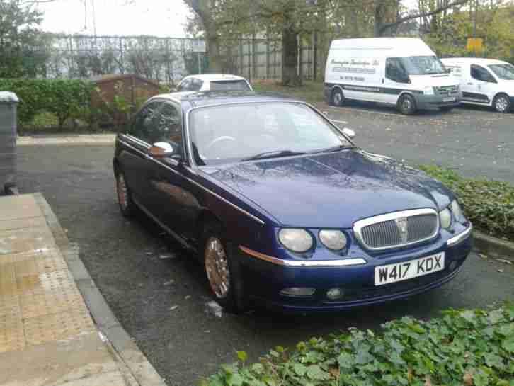 2000 rover 75 connoisseur cdt se blue diesel car for sale. Black Bedroom Furniture Sets. Home Design Ideas