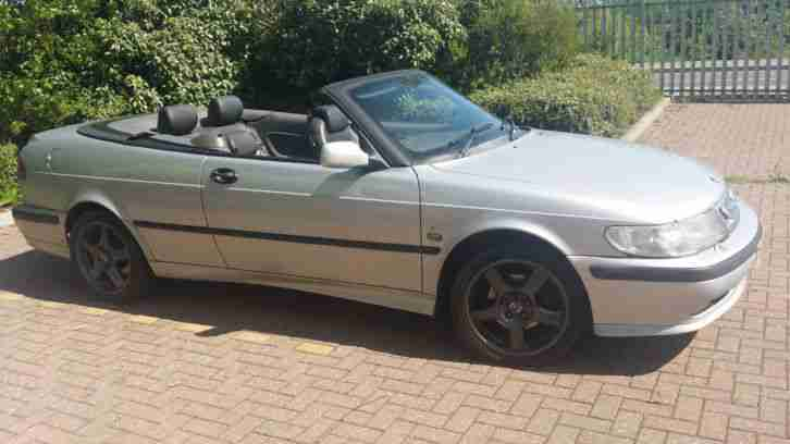 2000 SAAB 9-3 S ECO CONVERTIBLE CABRIOLET PROJECT SPARES / REPAIRS READ DESCRIPT
