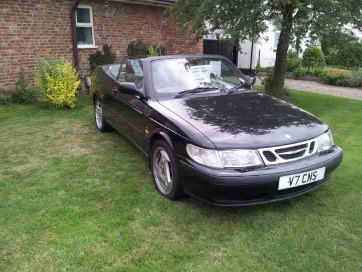 2000 SAAB 9-3 SE TURBO AUTO BLACK