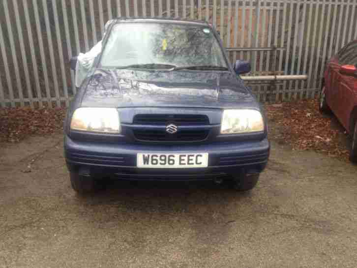 2000 SUZUKI GRAND VITARA GV2000 BLUE SPARES/REPAIRS IDEAL OFF ROADER