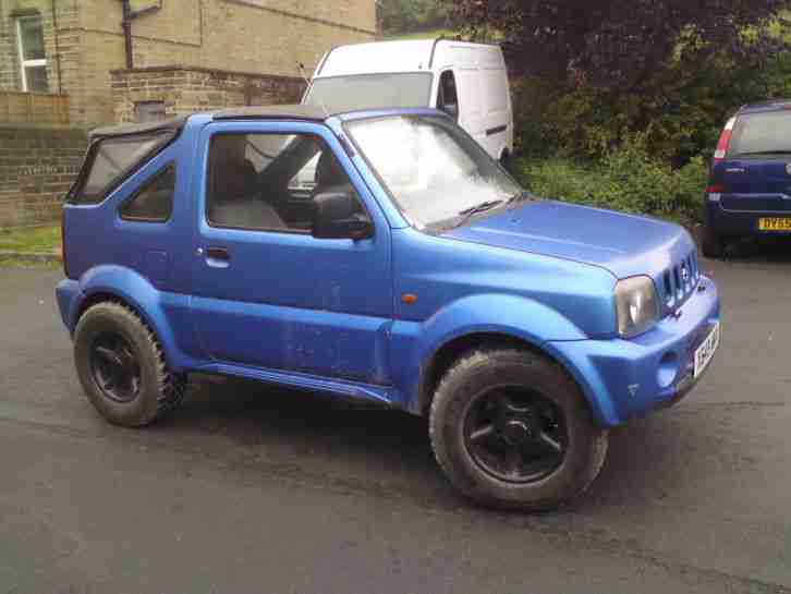 suzuki 2000 jimny jlx 4x4 spares repairs project may px motorcycle. Black Bedroom Furniture Sets. Home Design Ideas