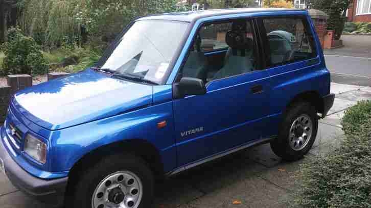 Suzuki VITARA. Suzuki car from United Kingdom