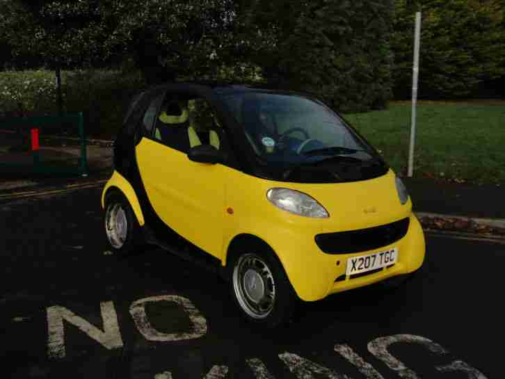 2000 Smart CDI 800cc turbo diesel