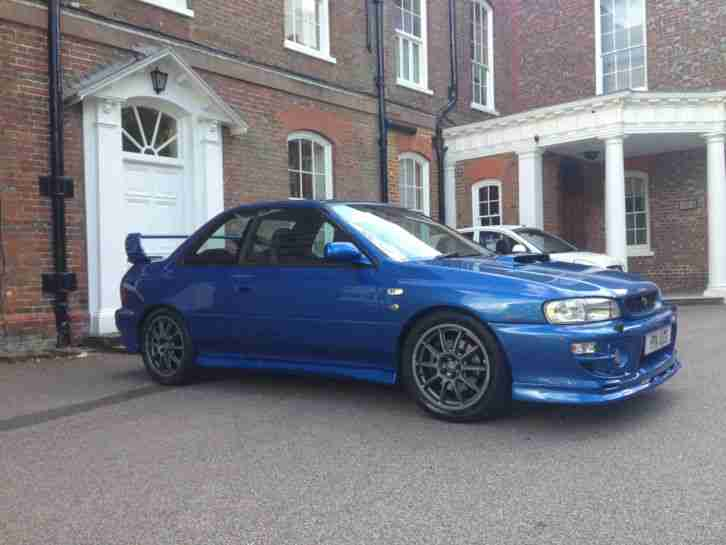 subaru 2000 impreza p1 60000 miles 2 door saloon car. Black Bedroom Furniture Sets. Home Design Ideas