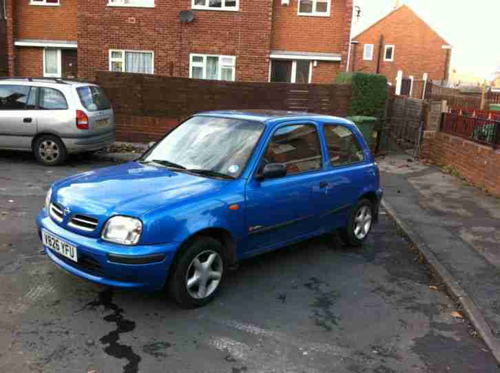 2000 V NISSAN MICRA 1.0 INSIRATION 3 DOOR HATCH WITH TAX & M.O.T!!!!!!!