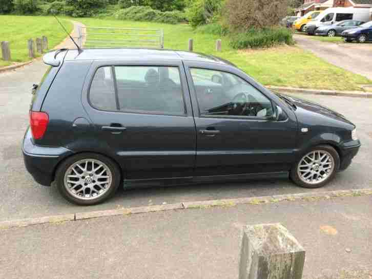 volkswagen 2000 polo tdi graphite grey looks like the gti model. Black Bedroom Furniture Sets. Home Design Ideas