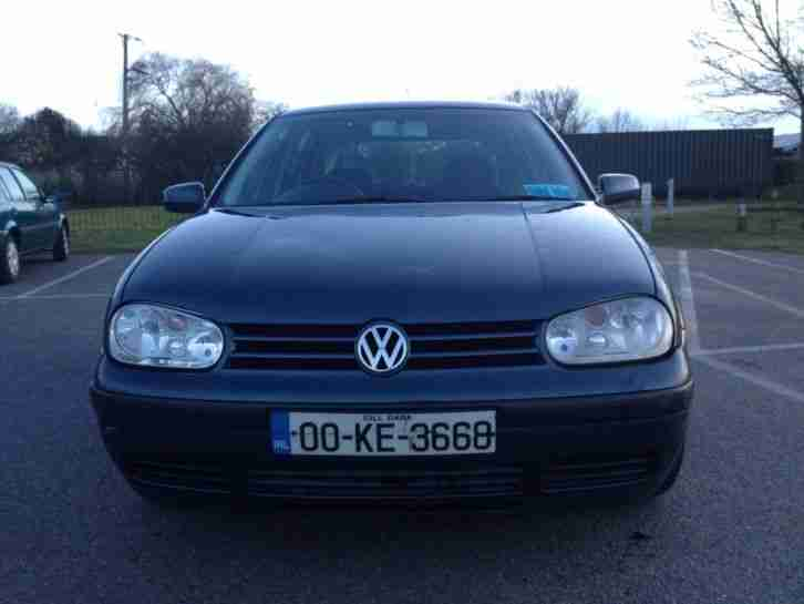 2000 VOLKSWAGEN VW GOLF TDI DIESEL Mk4 ON IRISH NUMBER PLATES FROM IRELAND