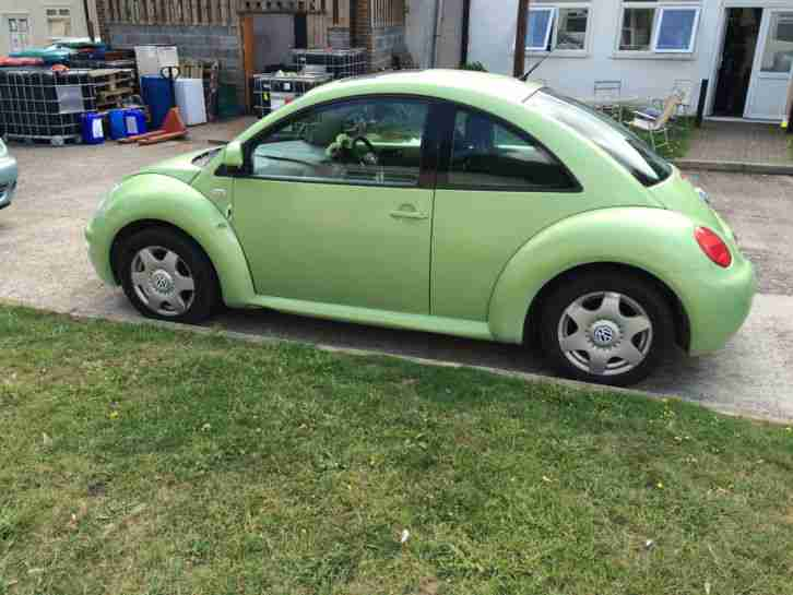 2000 vw beetle 2 0 auto green car for sale. Black Bedroom Furniture Sets. Home Design Ideas